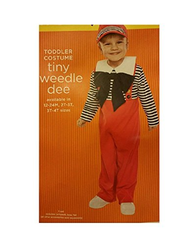 [Toddler Costume - Tiny Tweedle Dee (2T-3T) by TARGET] (Toddler Tweedle Dee Costume)