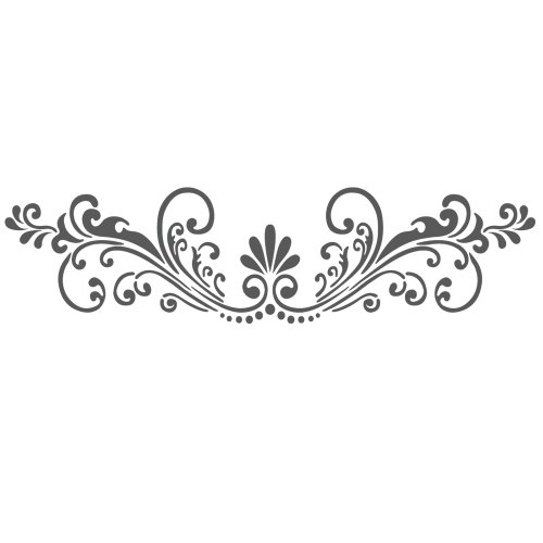 J BOUTIQUE STENCILS Wall Stencils Border Stencil Pattern Reusable Template for DIY wall (Wall Border Stencil)