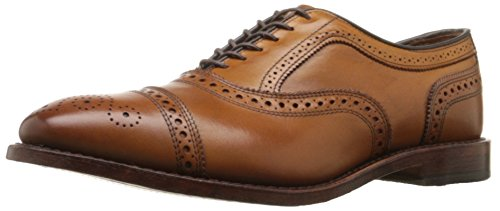 Oxford Edmonds Park Allen Avenue - Allen Edmonds Men's Strand Cap Toe With Perfing,Walnut,9 D US