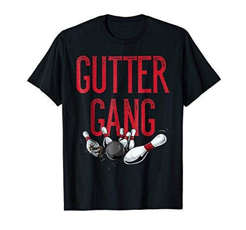 Gutter Gang Matching Bowling Team Shirts Men Women Teens