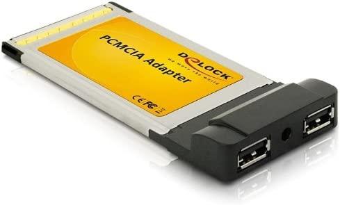 Delock 7800007 - Tarjeta PCMCIA (2 x USB 2.0)