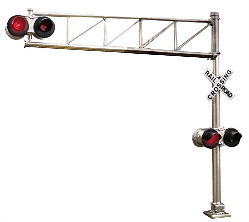 (Walthers SceneMaster Modern Single-Lane Cantilever Grade Crossing Signal)