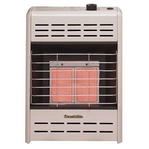 Empire Vent-Free Radiant Heater Natural Gas 6000 BTU, Manual Control