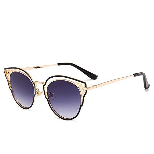 las de metal gafas las Las del gafas de 145 huecas sol forman sol 120 C de NIFG señoras m 45m PR0q6n