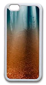 Autumn Forest Custom iPhone 6 Case Cover TPU White