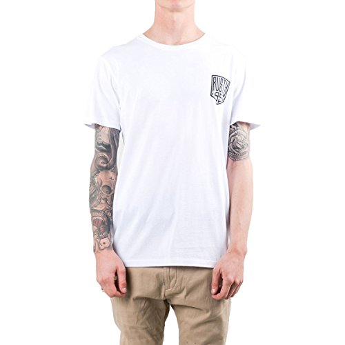 Rusty Men's Kings Short-Sleeve Shirts,Medium,White (Rusty T-shirt Short Sleeve)