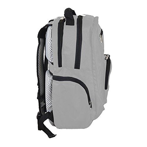 Denco NCAA Kentucky Wildcats Voyager Laptop Backpack, 19-inches, Grey (Laptop Ncaa Bag Kentucky Wildcats)