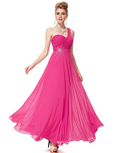 HE08077HP10 Hot Pink 8US Ever Pretty Prom Dresses For Juniors 08077
