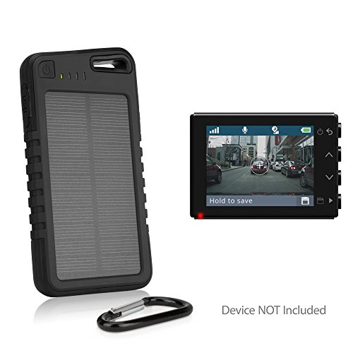 Dashboard Solar Battery Charger - 4