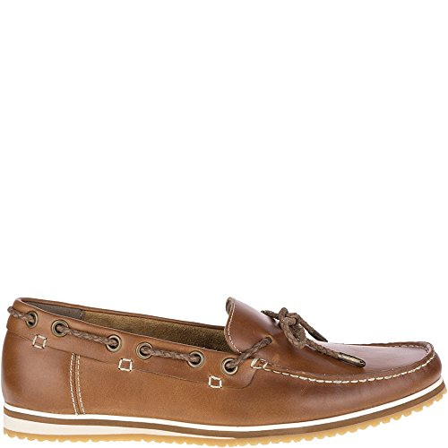 Hush Puppies Men's Bolognese Rope Lace Loafer, Light Brown, 7.5 M US