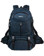 45L Backpacker Rucksack Herren und Dame Regenschutz, Outdoor-Reisen, Wandern, Klettern, Camping