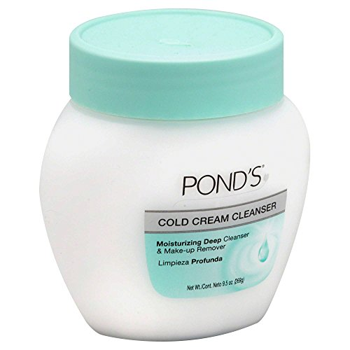 Pond's 9.5 oz. Cold Cream Cleanser Moisturizing Deep Cleanser & Makeup Remover Hypoallergenic Moisturizing Makeup Remover