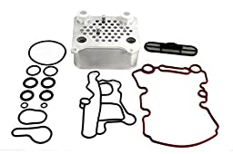 Oil Cooler Heavy Duty with Viton O-rings 2003-2007 Ford Powerstroke Diesel 6.0L