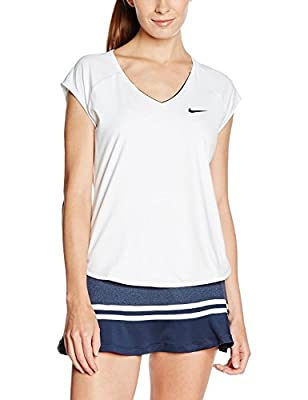 NIKE Womens Court Pure Tennis Top