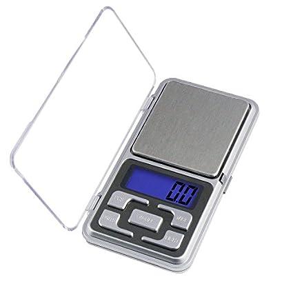 Mini Bascula Digital de Precision Balanza Pesa Micras 0,01g a 200g