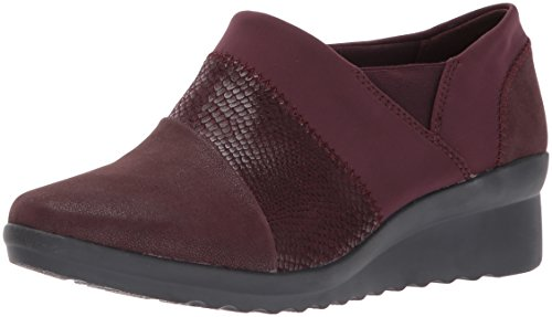Clarks Donne Caddell Denali Slip-on Loafer Bordeaux