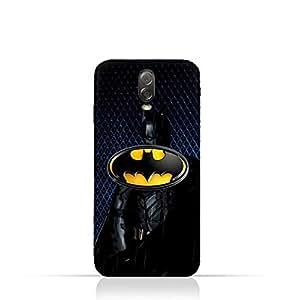 Samsung Galaxy C7 2017 TPU Silicone Protective Case with Batman Design