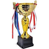 Avessa 119B Kupa 29Cm Gold Kaplama Siyah Zemin