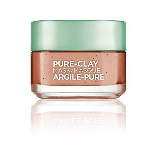 L'Oreal Paris Skin Care Pure Clay Mask Exfoliate And Refine Pores, 1.7 Ounce