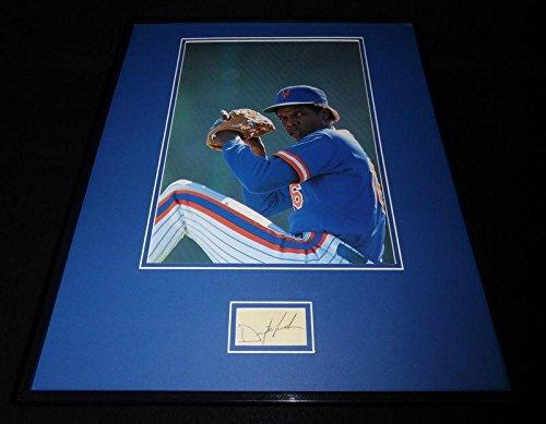 Signed Gooden Photo - Framed 16x20 Display Doc Dr K - PSA/DNA Certified - Autographed MLB Photos