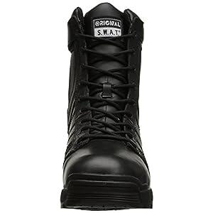 Original S.W.A.T. Men's Metro Air 9 Inch Waterproof Side-Zip Tactical Boot, Black, 7.5 D US