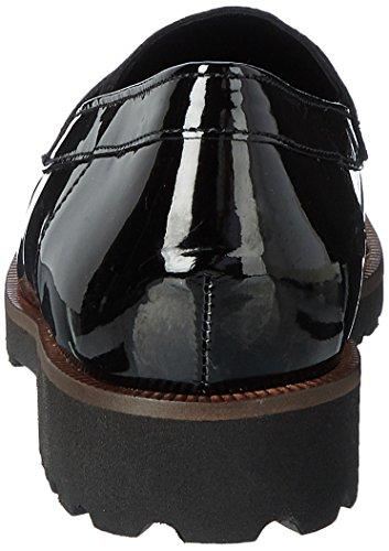 Gabor Women's Fashion Slippers, Black Schwarz (87 Schwarz (Cognac))