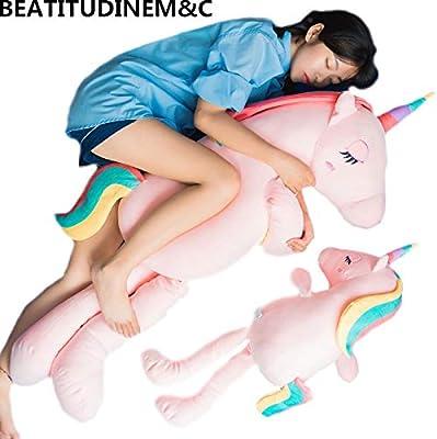 Amazon.com: Juguete de peluche de unicornio suave para ...