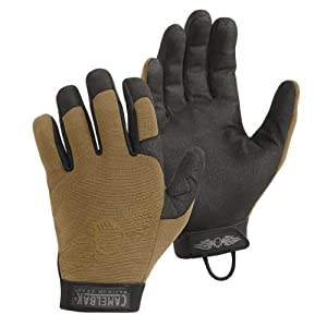 CamelBak Heat Grip CT Gloves with Logo (Coyote, Small)
