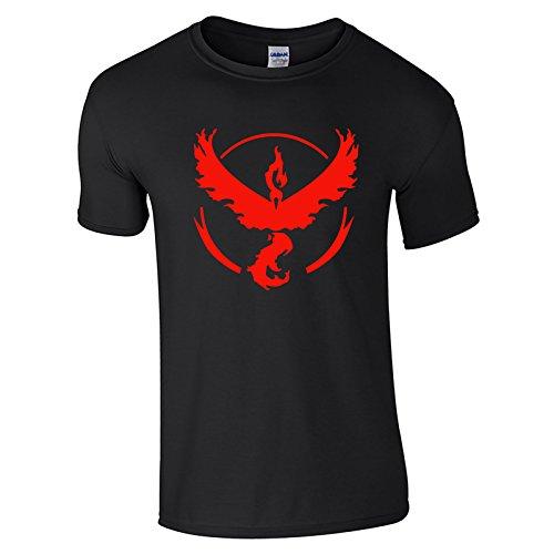 Pokemon-Go-Team-valor-Camiseta-para-hombre