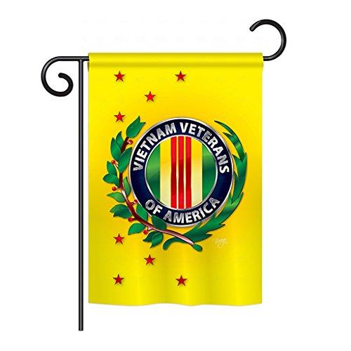 Vietnam Veteran Garden Flag 13″ X 18.5″ For Sale