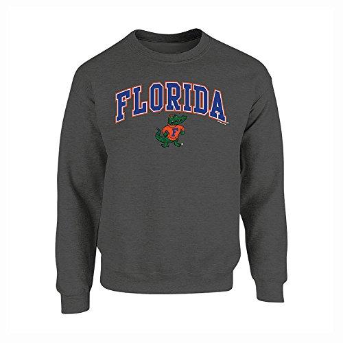 - Elite Fan Shop NCAA Men's Florida Gators Crewneck Sweatshirt Dark Heather Arch Florida Gators Dark Heather XX Large