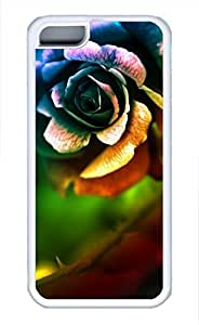iPhone 5c case, Cute Rose 3 iPhone 5c Cover, iPhone 5c Cases, Soft Whtie iPhone 5c Covers