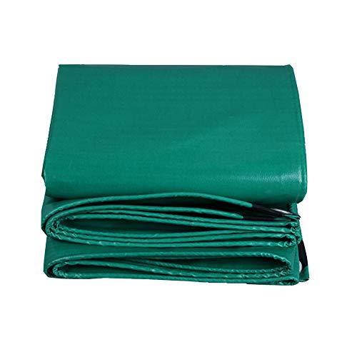 ベルト国籍さわやかKKCF オーニング耐寒性日焼け止め防塵の腐食保護抗酸化屋外トラックポリエステル 、520 / M2 、12サイズ (色 : Green, サイズ さいず : 2.8x3.8m)