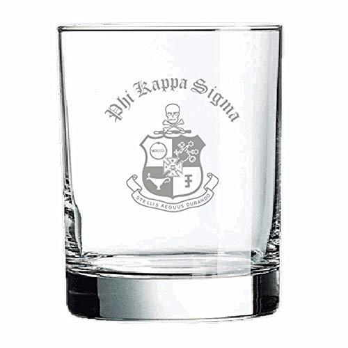 (Greekgear Phi Kappa Sigma Old Style Glass Transparent)