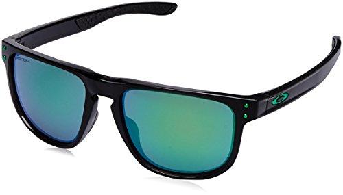 Oakley Men's Holbrook R Polarized Iridium Square Sunglasses, Polished Black, 55.0 mm (Oakley Iridium Sunglasses For Men)