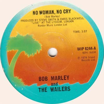 Bob Marley & The Wailers - No Women No Cry/kinky Reggae Vinyl 7