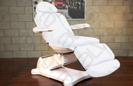 Spa Salon Electric Facial Hydraulic Chair Bed Table High End Equipment Monte Carlo (White)