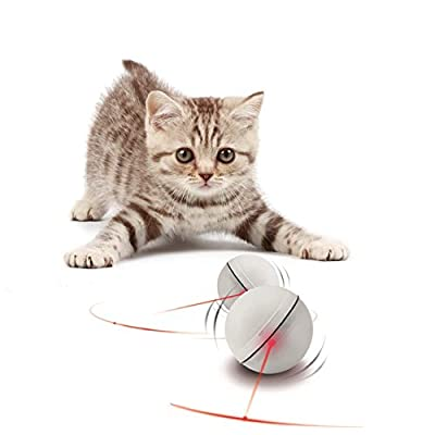 Toys for cats YOFUN Interactive Cat Toy 360 Degree Self Rotating Ball... [tag]