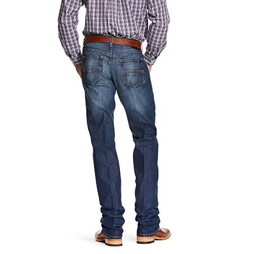ARIAT Men's Relentless Original Fit Buck Stackable Stretch Straight Leg Jean