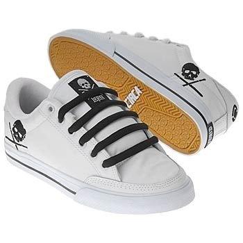 quality design 5e2dc cf12c Circa Skateboard Shoes 50 Lopez White/Black/Skulls - Circa ...