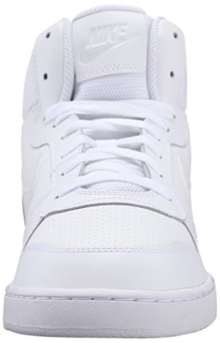 Borough White Mid Shoes White Court Basketball White NIKE s Men White 4wfqTwU