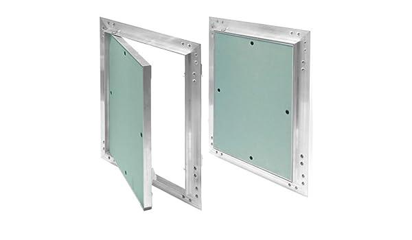 Tapa para revisión de marco de aluminio 12,5 mm GK Einlage yeso ...
