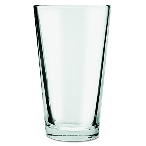 - Anchor 176FU Mixing Glasses, 16oz, Clear (Case of 24)