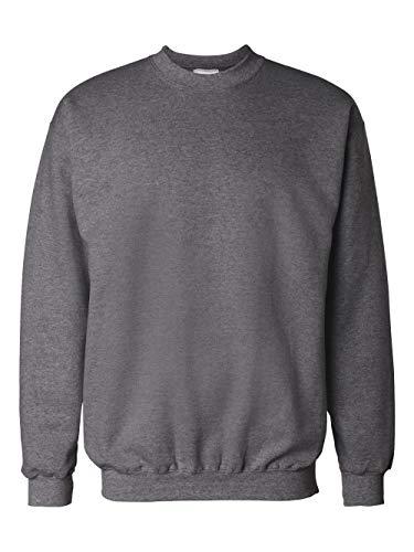- Hanes Men's Ultimate Heavyweight Fleece Sweatshirt, Charcoal Heather, 3X-Large