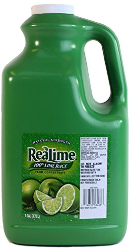 Real Lime Juice (1 Gallon) 100% Lime Juice (Lime Juice)