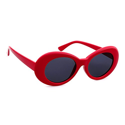 Adewu Goggles Soleil Lunettes Red De Clout Ovales 77zxfwrSq