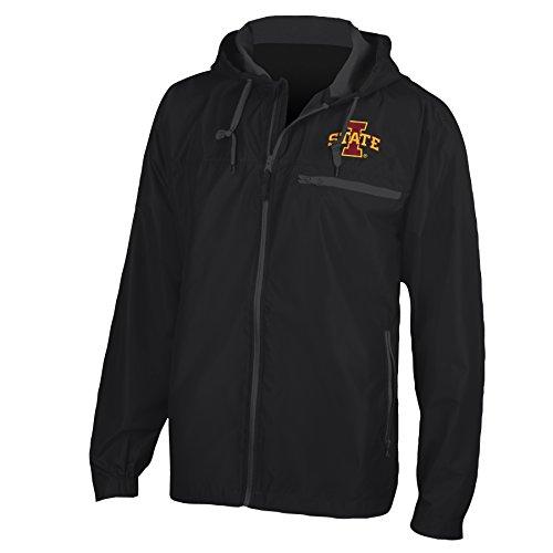 NCAA Iowa State Cyclones Venture Jacket, Black, -