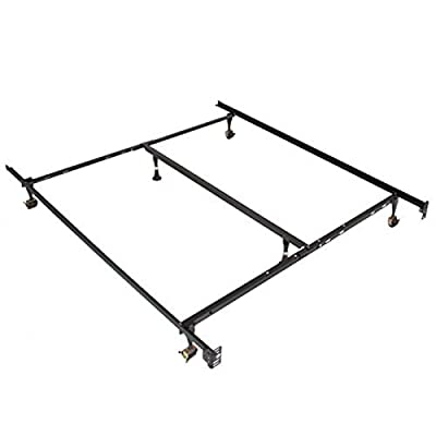Metal Bed Frame Adjustable Queen Full Twin Size