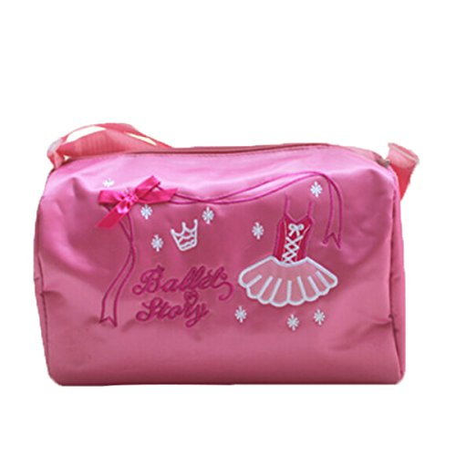 Happy Cherry Kids Girls Pink Dance Duffle Bag Ballet Dancing Sports Shoulder Bag