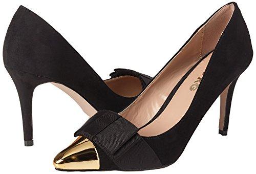 Cerrada Zapatos Mujer Con Kg Punta Alyssa Para Schwarz Tacón Miss De black 0qZxwp